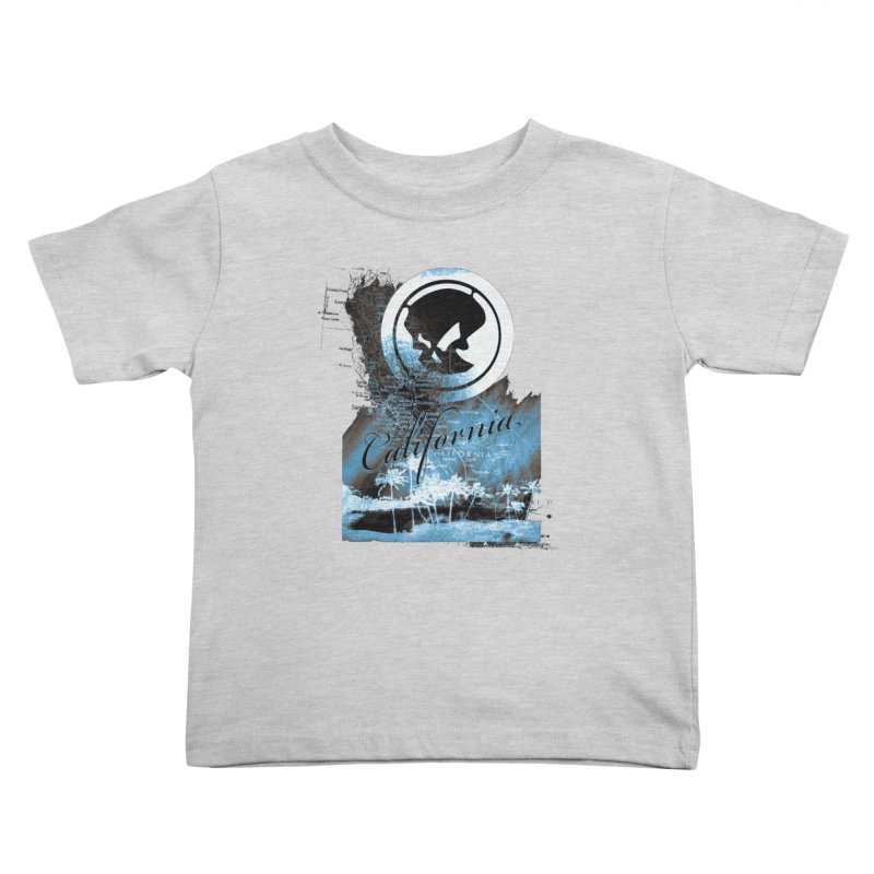 Phantom California Night Kids Toddler T-Shirt by phantom's Artist Shop