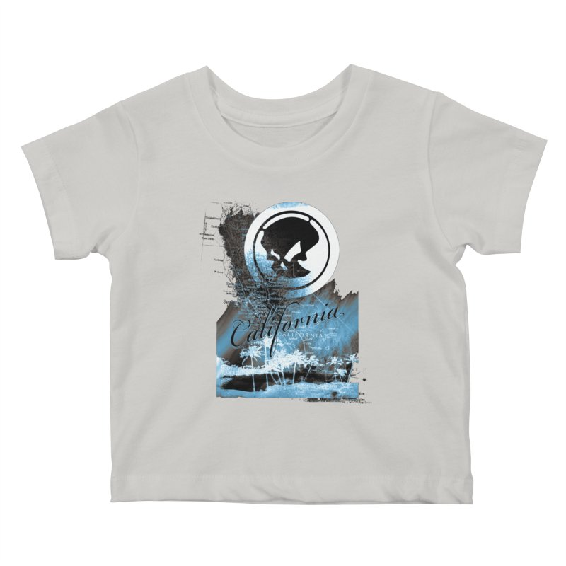 Phantom California Night Kids Baby T-Shirt by phantom's Artist Shop