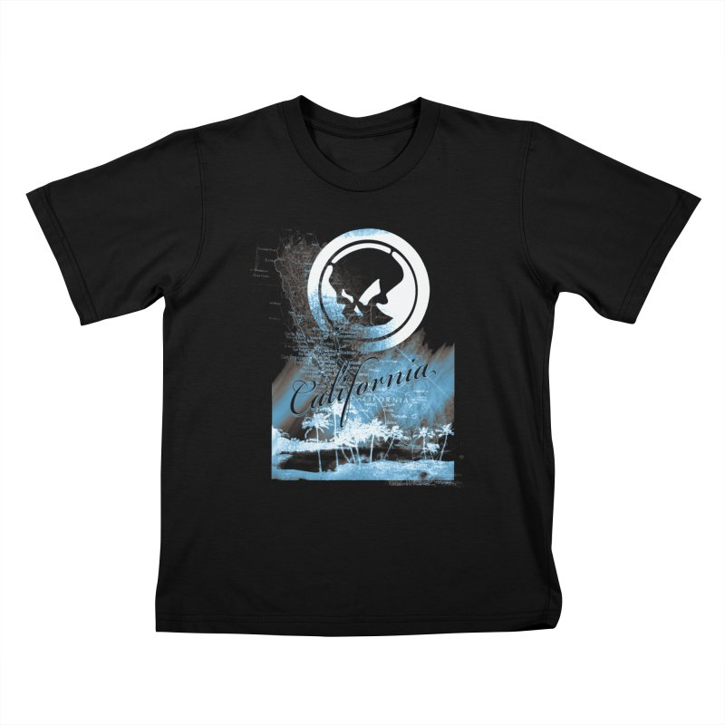 Phantom California Night Kids T-Shirt by phantom's Artist Shop