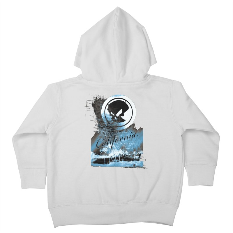 Phantom California Night Kids Toddler Zip-Up Hoody by phantom's Artist Shop