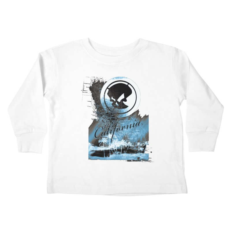 Phantom California Night Kids Toddler Longsleeve T-Shirt by phantom's Artist Shop