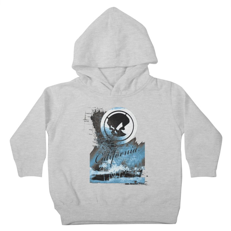 Phantom California Night Kids Toddler Pullover Hoody by phantom's Artist Shop