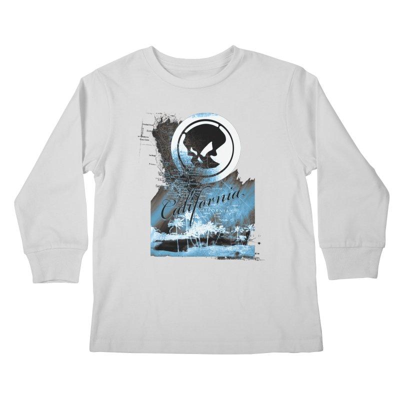 Phantom California Night Kids Longsleeve T-Shirt by phantom's Artist Shop