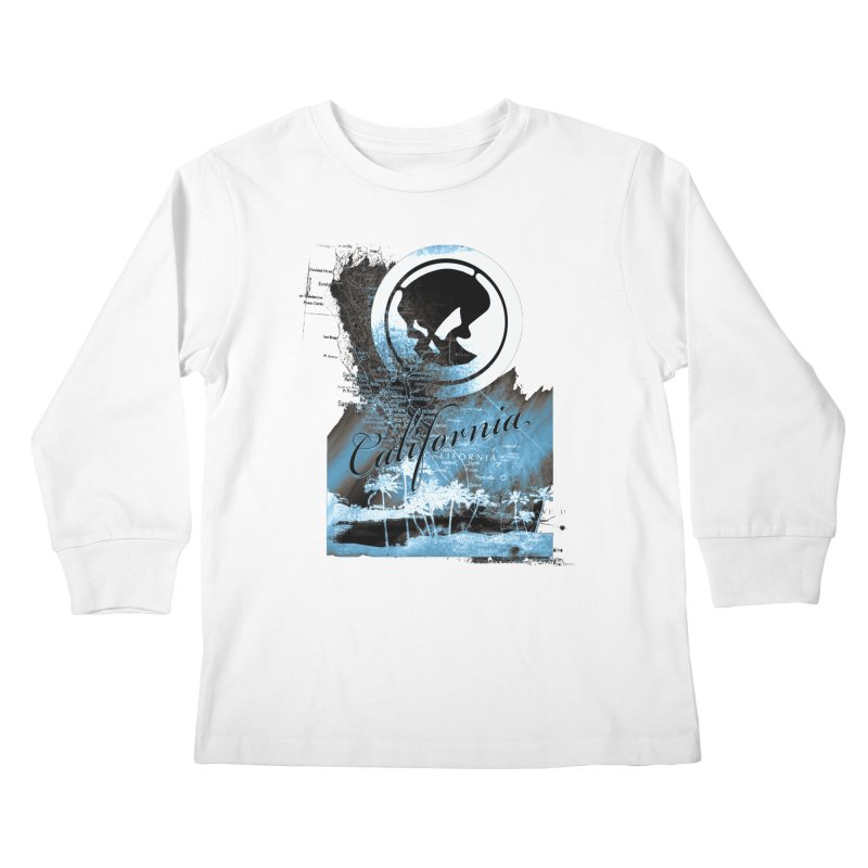 Phantom California Night Kids Longsleeve T-Shirt by phantom's Artist Shop