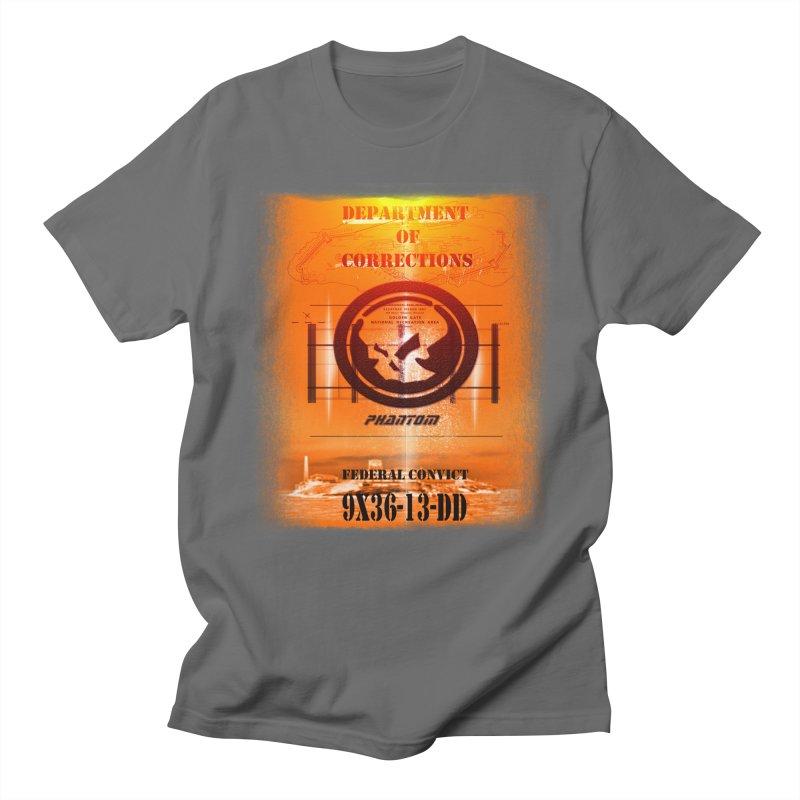 Phantom Federal Convict Men's T-Shirt by phantom's Artist Shop