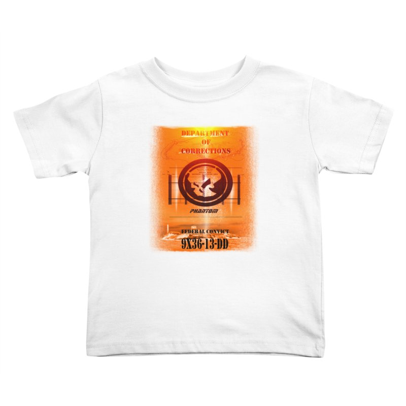 Phantom Federal Convict Kids Toddler T-Shirt by phantom's Artist Shop