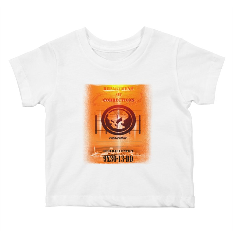 Phantom Federal Convict Kids Baby T-Shirt by phantom's Artist Shop