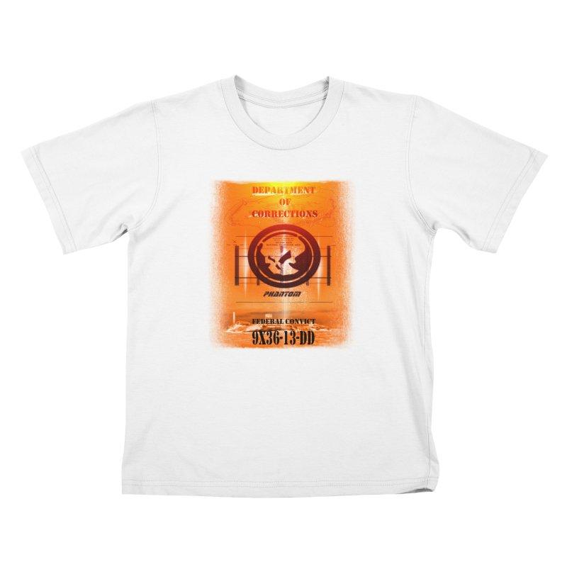 Phantom Federal Convict Kids Toddler T-Shirt by phantom's Artist Shop