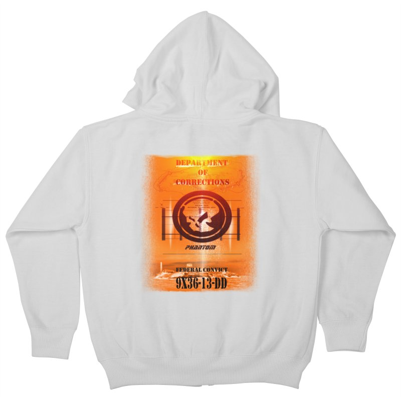 Phantom Federal Convict Kids Zip-Up Hoody by phantom's Artist Shop