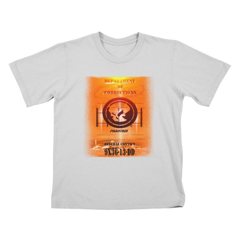 Phantom Federal Convict Kids T-Shirt by phantom's Artist Shop