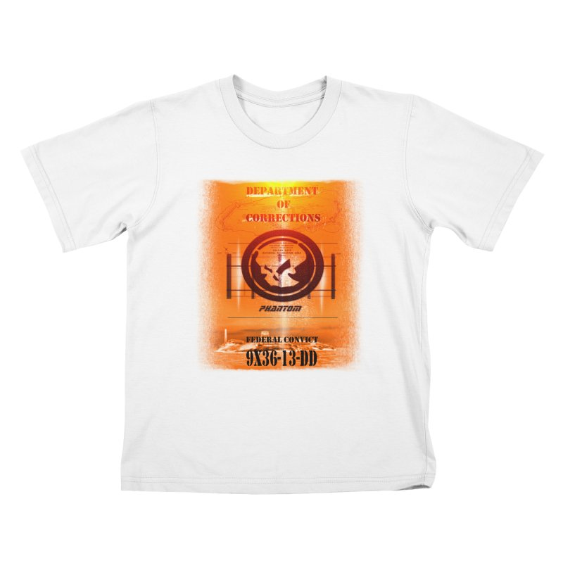 Phantom Federal Convict Kids T-Shirt by phantom's Artist Shop