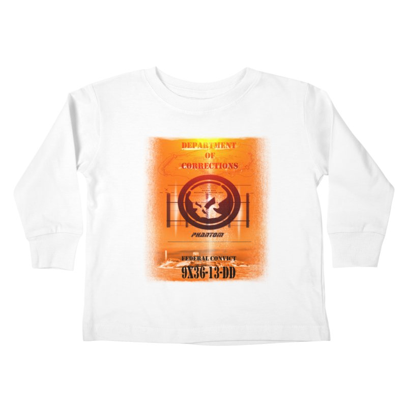 Phantom Federal Convict Kids Toddler Longsleeve T-Shirt by phantom's Artist Shop