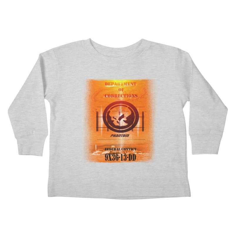 Phantom Federal Convict Kids Toddler Longsleeve T-Shirt by phantom's Artist Shop