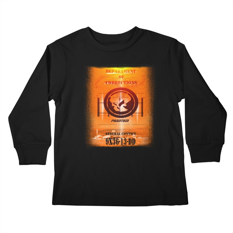 Phantom Federal Convict Kids Longsleeve T-Shirt by phantom's Artist Shop