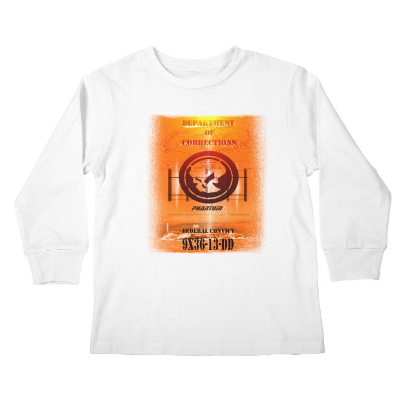 Phantom Federal Convict Kids Longsleeve T-Shirt by phantom's Artist Shop