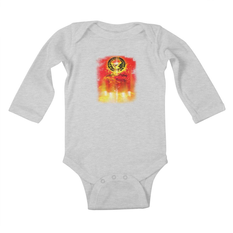 Phantom Racing Kids Baby Longsleeve Bodysuit by phantom's Artist Shop