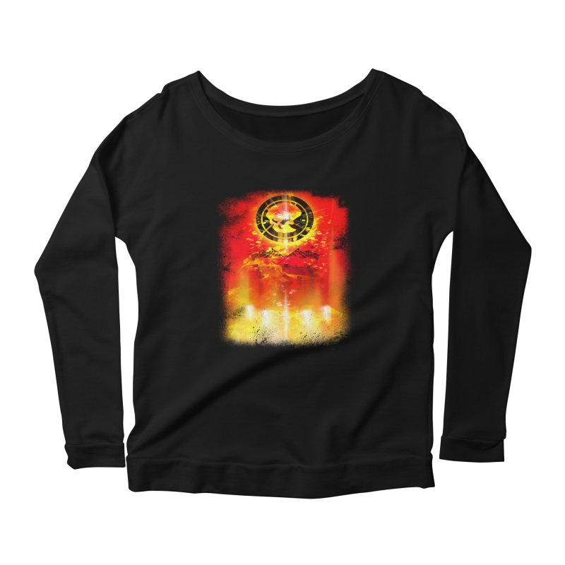 Phantom Racing Women's Longsleeve Scoopneck  by phantom's Artist Shop