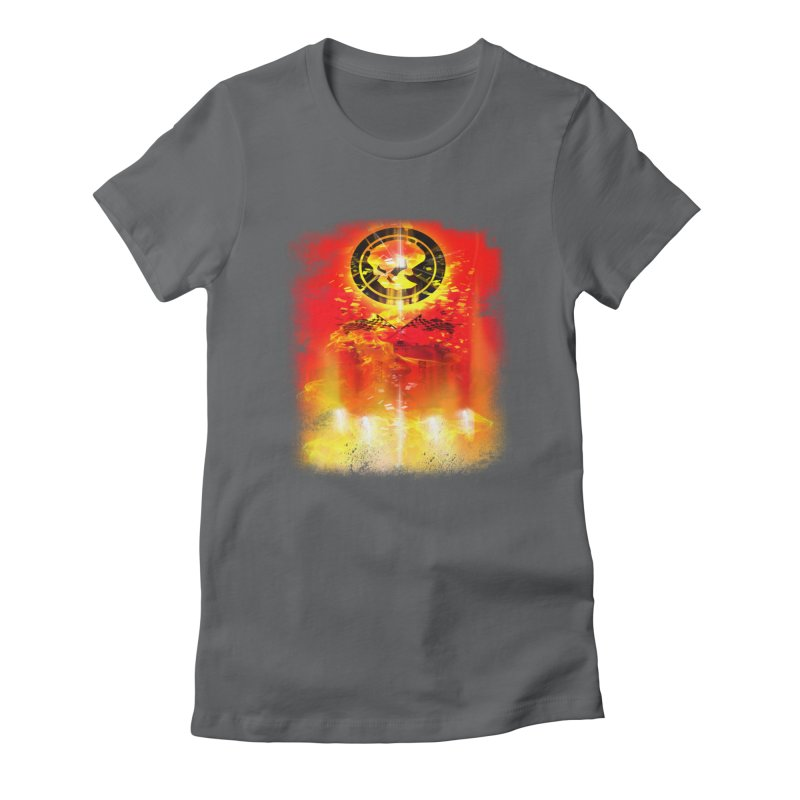 Phantom Racing Women's Fitted T-Shirt by phantom's Artist Shop