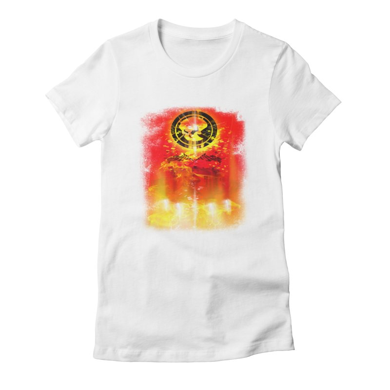 Phantom Racing Women's Fitted T-Shirt by phantom's Artist Shop