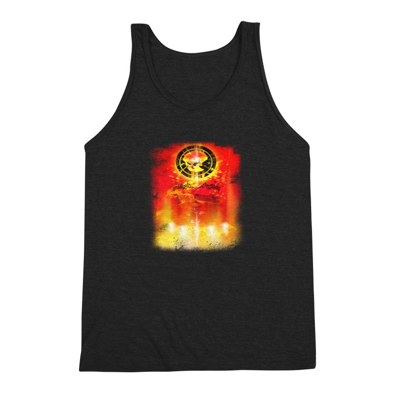 Phantom Racing Men's Triblend Tank by phantom's Artist Shop