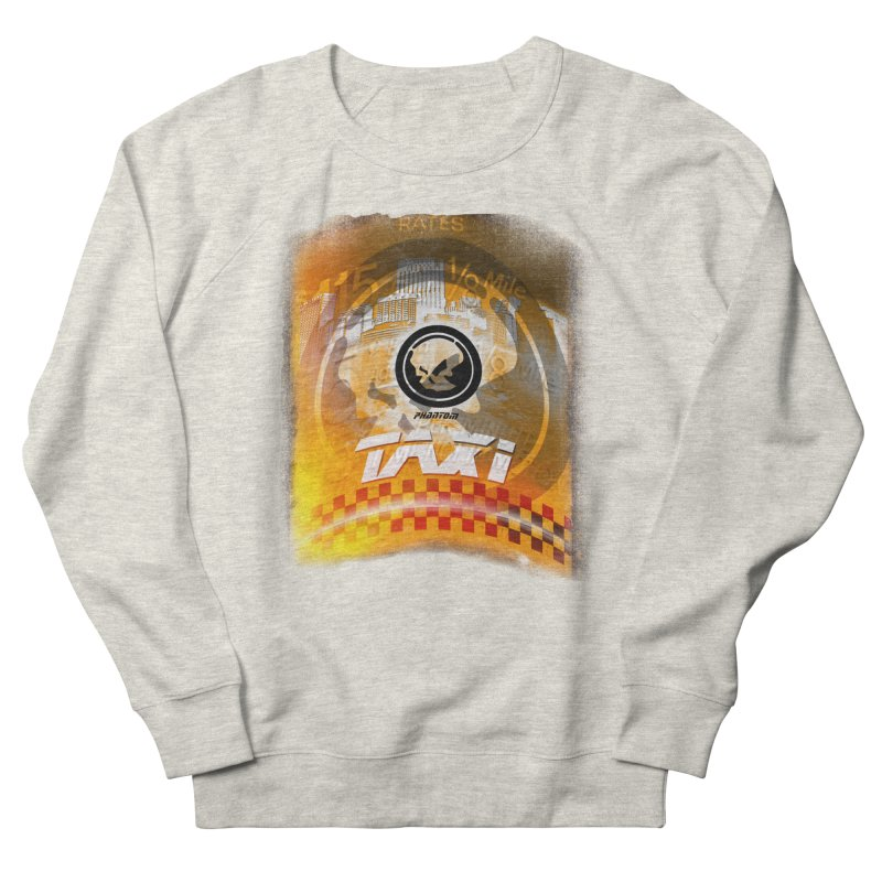 Phantom Taxi Men's Sweatshirt by phantom's Artist Shop