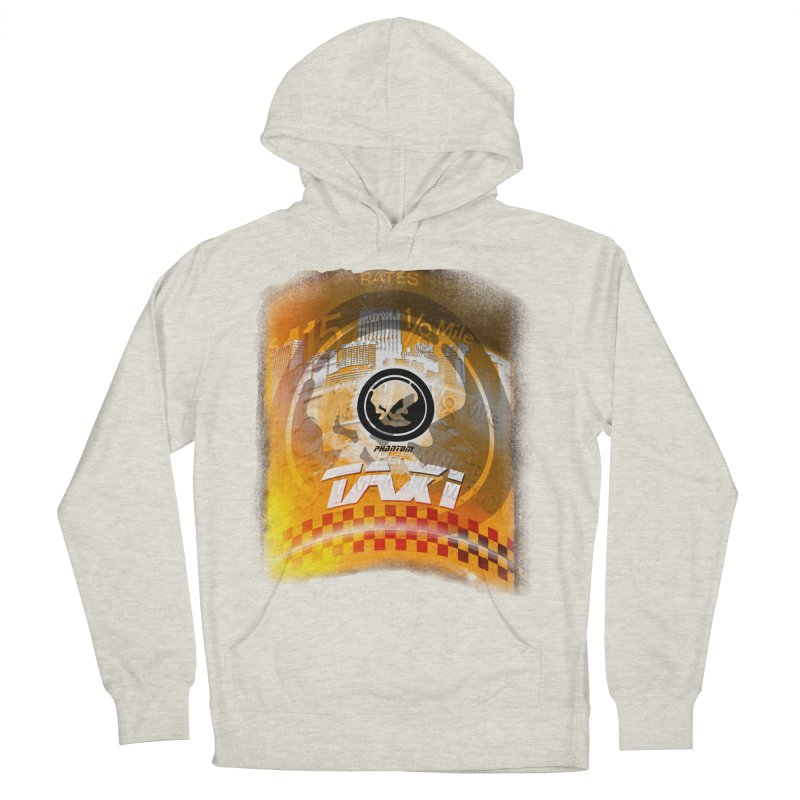 Phantom Taxi Women's French Terry Pullover Hoody by phantom's Artist Shop