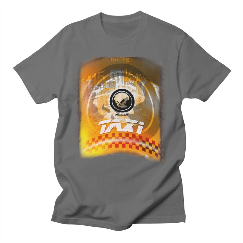Phantom Taxi Men's Regular T-Shirt by phantom's Artist Shop