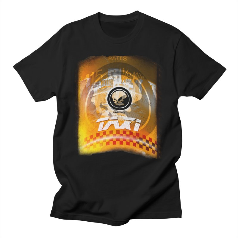 Phantom Taxi Men's T-Shirt by phantom's Artist Shop