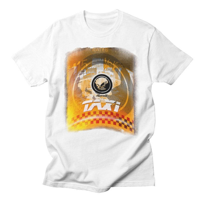 Phantom Taxi Men's Regular T-Shirt by phantom's Artist Shop