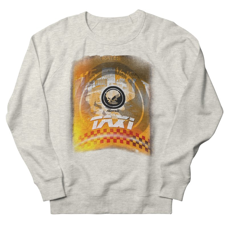 Phantom Taxi Women's French Terry Sweatshirt by phantom's Artist Shop