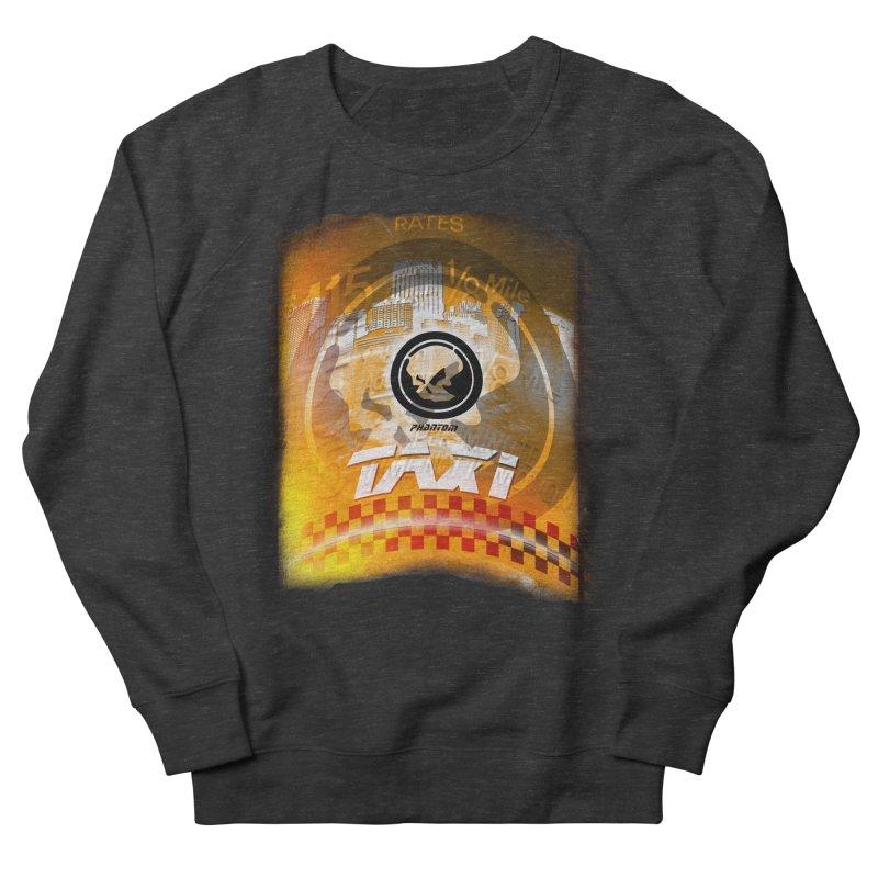 Phantom Taxi Men's French Terry Sweatshirt by phantom's Artist Shop