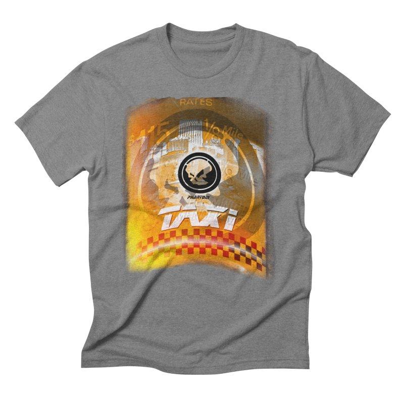 Phantom Taxi Men's Triblend T-Shirt by phantom's Artist Shop