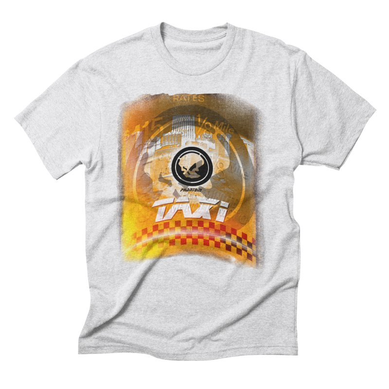 Phantom Taxi Men's Triblend T-Shirt by phantom's Artist Shop