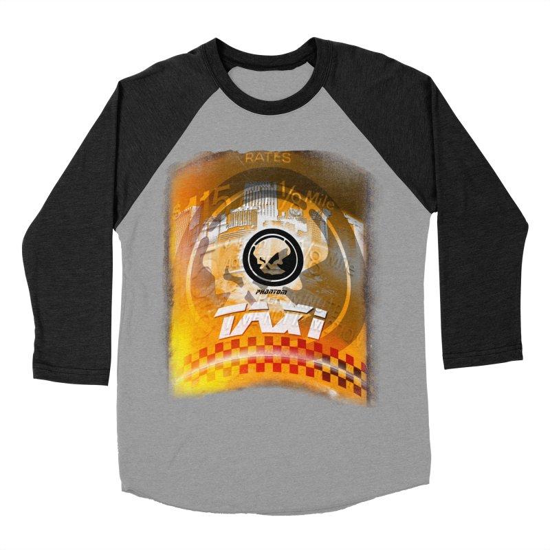 Phantom Taxi Women's Baseball Triblend Longsleeve T-Shirt by phantom's Artist Shop