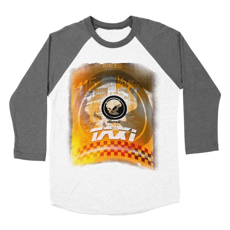 Phantom Taxi Men's Baseball Triblend Longsleeve T-Shirt by phantom's Artist Shop