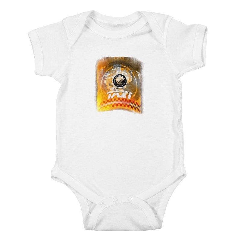 Phantom Taxi Kids Baby Bodysuit by phantom's Artist Shop
