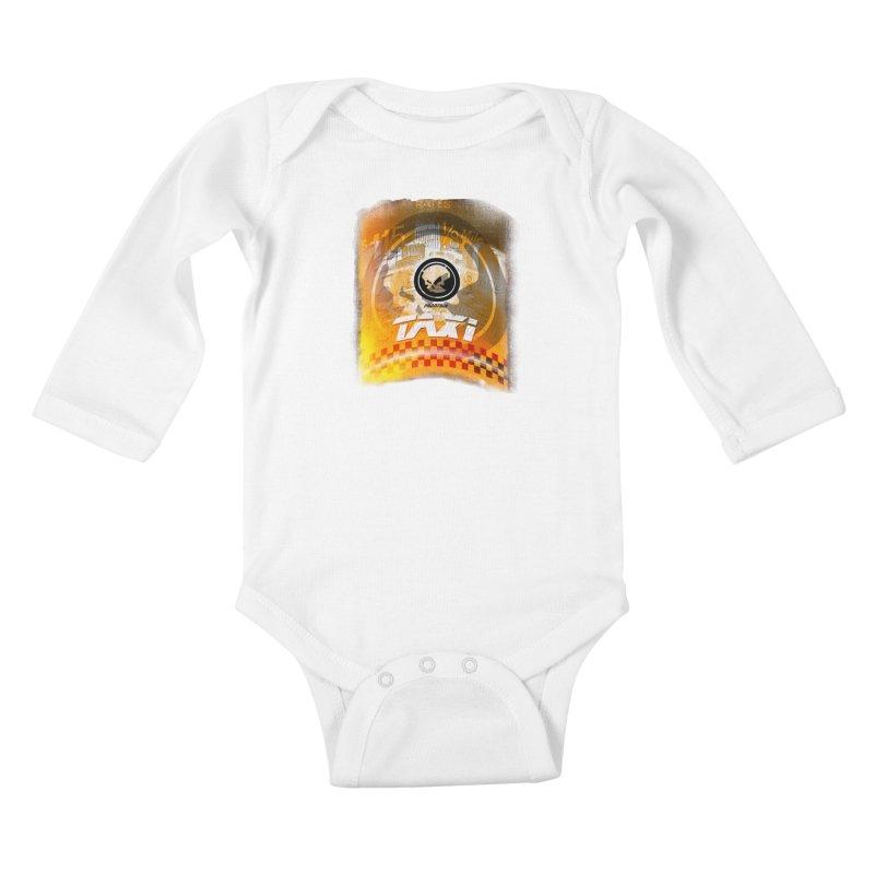 Phantom Taxi Kids Baby Longsleeve Bodysuit by phantom's Artist Shop