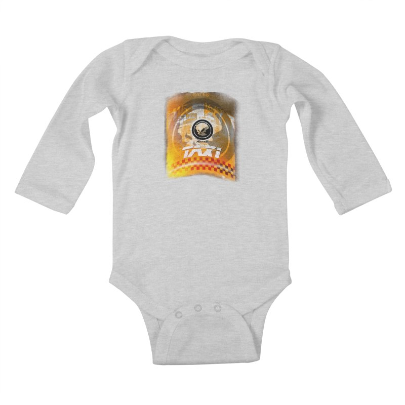 Phantom Taxi Kids Baby Longsleeve Bodysuit by phantom's Artist Shop