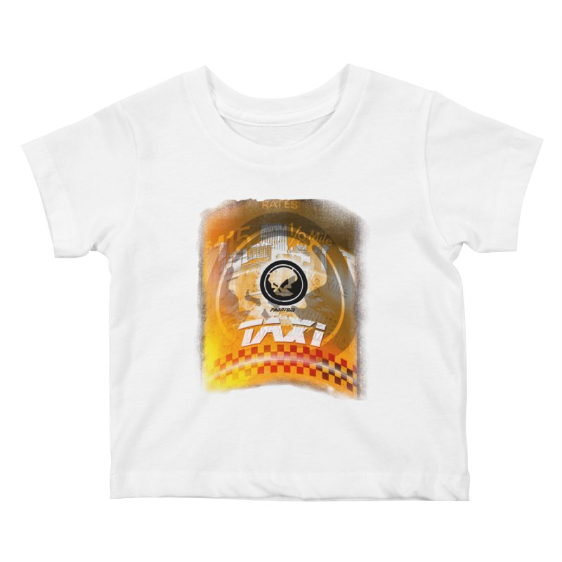 Phantom Taxi Kids Baby T-Shirt by phantom's Artist Shop
