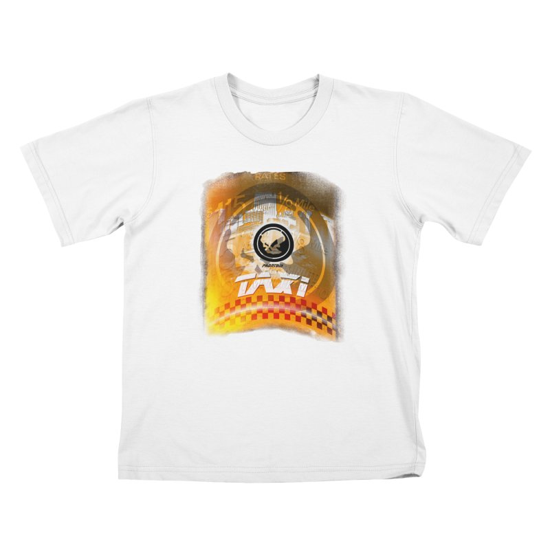 Phantom Taxi Kids Toddler T-Shirt by phantom's Artist Shop