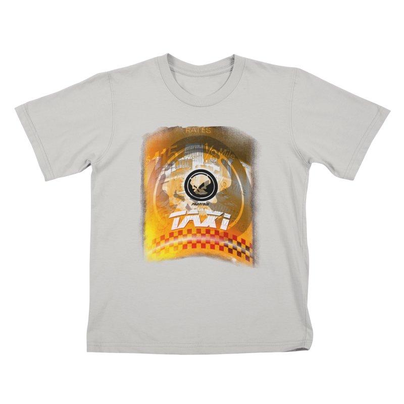 Phantom Taxi Kids T-shirt by phantom's Artist Shop