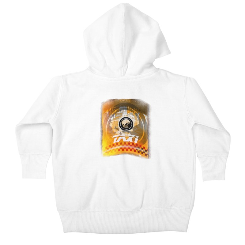 Phantom Taxi Kids Baby Zip-Up Hoody by phantom's Artist Shop