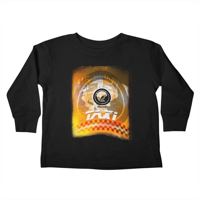 Phantom Taxi Kids Toddler Longsleeve T-Shirt by phantom's Artist Shop