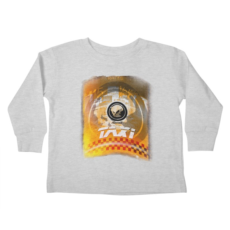 Phantom Taxi Kids Toddler Longsleeve T-Shirt by phantom's Artist Shop