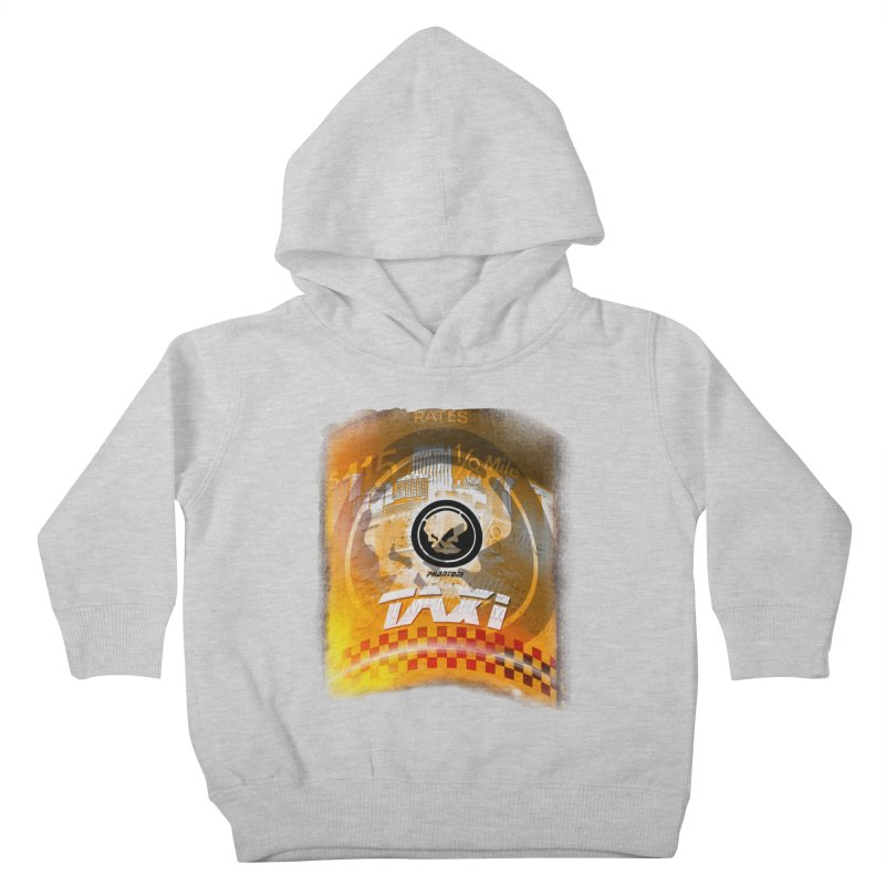Phantom Taxi Kids Toddler Pullover Hoody by phantom's Artist Shop