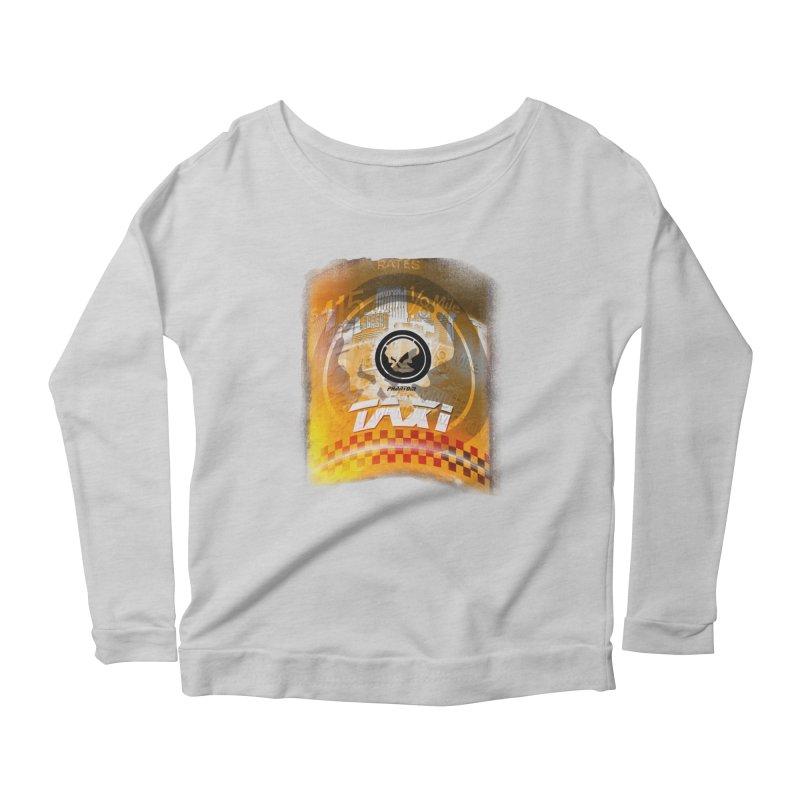 Phantom Taxi Women's Scoop Neck Longsleeve T-Shirt by phantom's Artist Shop