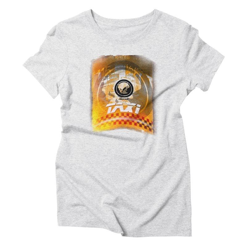 Phantom Taxi Women's Triblend T-shirt by phantom's Artist Shop