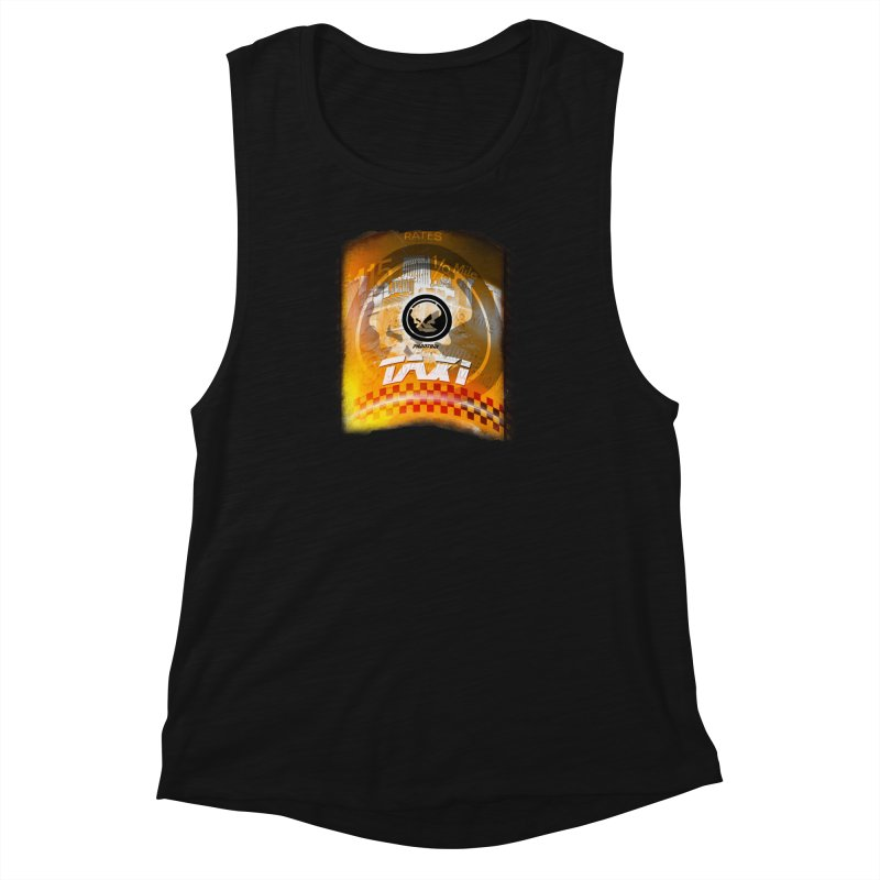Phantom Taxi Women's Muscle Tank by phantom's Artist Shop