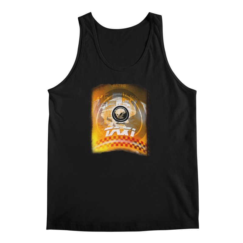Phantom Taxi Men's Tank by phantom's Artist Shop