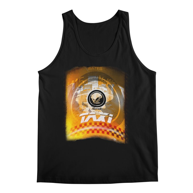 Phantom Taxi Men's Regular Tank by phantom's Artist Shop